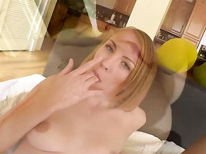 Big Dick Cums On The Cute Teenage Slut