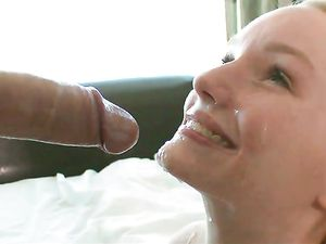 Wet Teen Pussy Filled With Long Slow Strokes