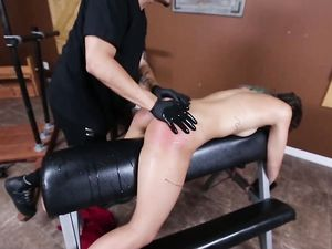 Dungeon Slut Fucked In The Mouth And Cunt