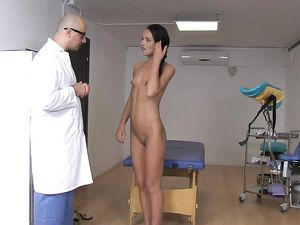 Bad Doctor Butt Fucking The Skinny Teenage Girl