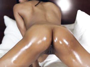 Firm Body Black Girl Has Hot Interracial Sex