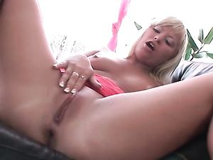 Big Dong For A Lovely Blonde Teen's Asshole