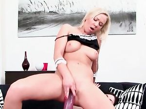 Lesbian Princesses With A Huge strap On