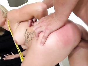 Fit Cutie Does A Split And Bounces On His Hard Dick