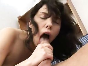 Flexible Young Slut Is Desperate For Big Cock Hardcore
