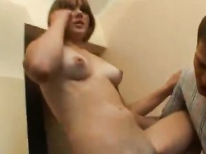 Sweetheart With Hard Nipples Turned On By Foreplay