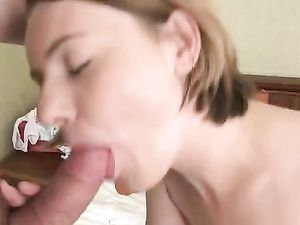 Super Cute Tattooed Teen Takes A Ride On A Cock