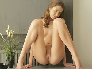 Oiling Up And Masturbating Gets Her Very Horny