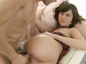 Schoolgirl Gets Filled With A Long Boner