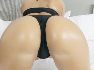 Brunette Babe With A Nice Ass Is Ready For His Cock