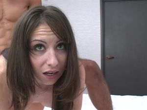 Skinny Hottie Shoots Her First Porn Scene And Loves It