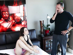 Having An Affair With His Sexy Babysitter Is Fun