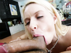 Good Head From A Blonde Pornstar In Glorious POV