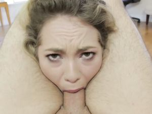 Stuffing A Petite Blonde Slut With Big Dick