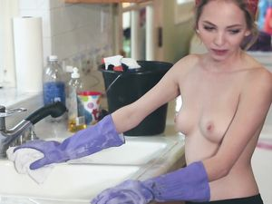 Petite Dick Swallowing Teen Gets On Top And Rides